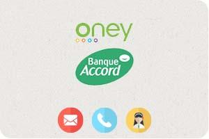 contact banque accord oney service client par t l phone et. Black Bedroom Furniture Sets. Home Design Ideas